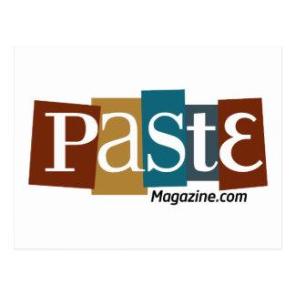 Paste Block Logo URL Colour Postcard