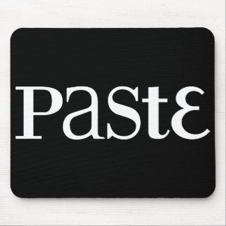 Paste Classic White Logo Mousepad