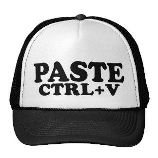 PASTE Ctrl+V Twins Cap