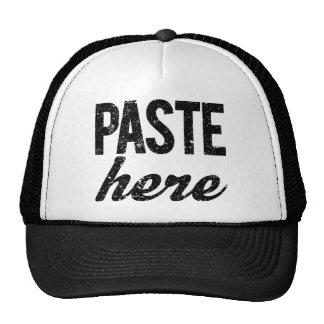 PASTE For Copy Paste Twins Cap