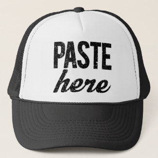 PASTE For Copy Paste Twins Trucker Hat