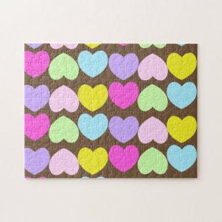 Paste Hearts Puzzle
