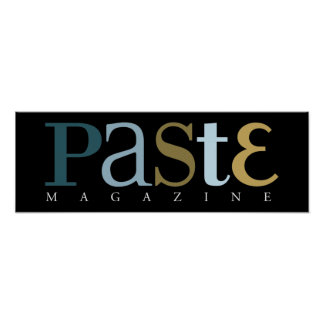 Paste Issue 3 Classic Logo Poster Print