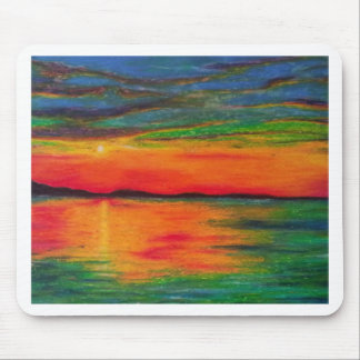 paste lsunset mouse pad