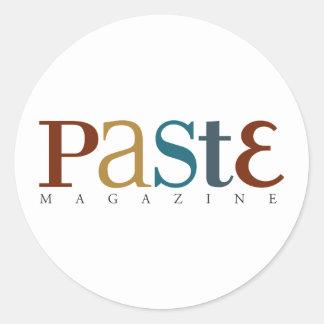 Paste Official Logo Sticker