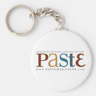 Paste Original Logo Keychain
