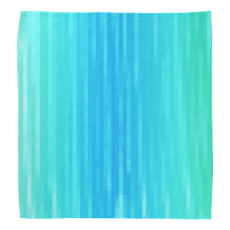 Pastel Abstract Art Teal Turquoise Blue Green Bandana