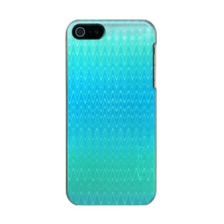 Pastel Abstract Art Teal Turquoise Blue Green Incipio Feather® Shine iPhone 5 Case