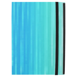"Pastel Abstract Art Teal Turquoise Blue Green iPad Pro 12.9"" Case"