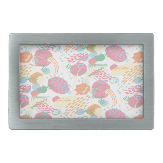 Pastel Abstract Belt Buckle
