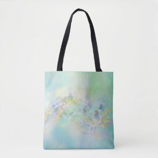 Pastel Abstract Floral Tote Bag