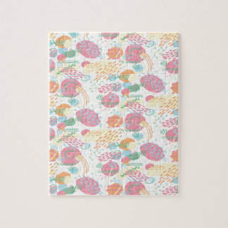 Pastel Abstract Jigsaw Puzzle
