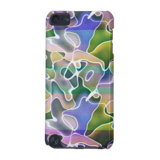 Pastel Abstract Stripes iPod 5g Case