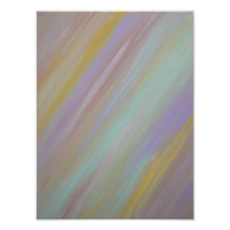 Pastel Afternoon - ReSizable Poster