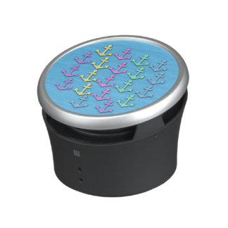 Pastel Anchor Pattern Bumpster Speakers Speaker