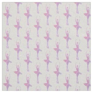 Pastel Ballerina Ivory Linen Fabric