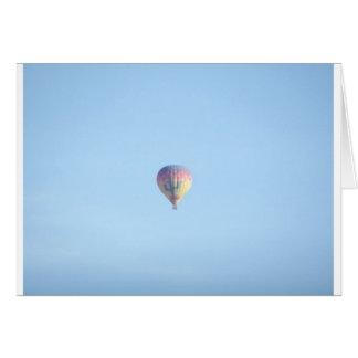 Pastel Balloon Greeting Card