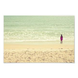 Pastel Beach Photography Art Photo