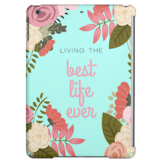Pastel Best Life Ever IPad Cover