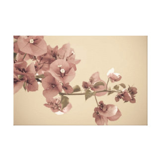 Pastel blossoms gallery wrap canvas