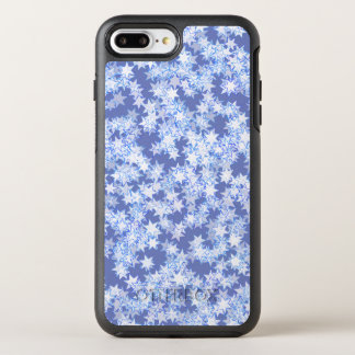 Pastel Blue and Periwinkle Kawaii Stars OtterBox Symmetry iPhone 8 Plus/7 Plus Case