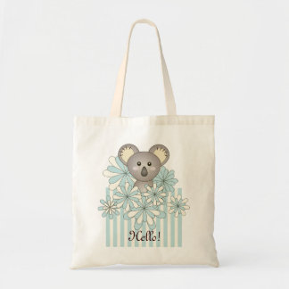 Pastel Blue Cute Animal Cartoon Koala Kids Name