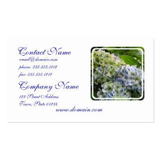Pastel Blue Hydrangeas Business Cards