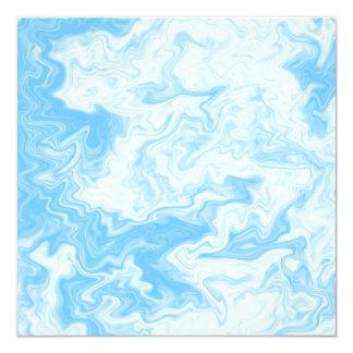 Pastel Blue Random Design. Invites