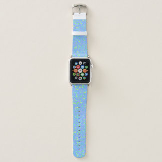 Pastel Blue Speckled 4Joey Apple Watch Band