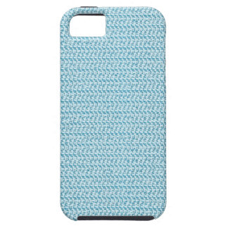 Pastel Blue Weave Mesh Look iPhone 5 Cases