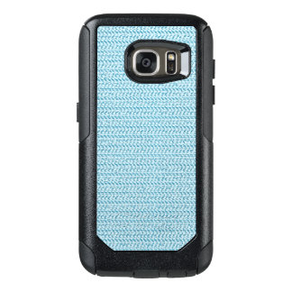 Pastel Blue Weave Mesh Look OtterBox Samsung Galaxy S7 Case
