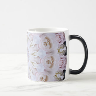 PASTEL BOHEMIAN KALEIDOSCOPIC GEOMETRIC MANDALA MAGIC MUG