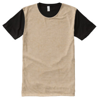Pastel Brown Marble All-Over Print T-Shirt