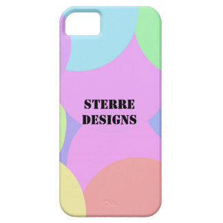 Pastel bubbles | Custom name iPhone 5 Cases