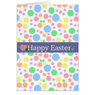 Pastel Bubbles Greeting Card