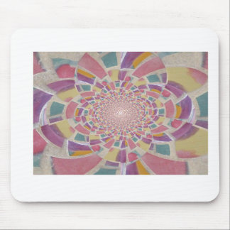 Pastel Burst Mosaic MousePad