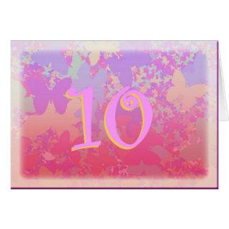 Pastel Butterflies Card