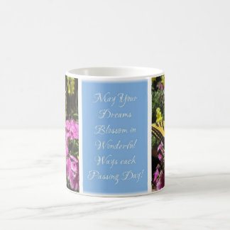 Pastel Butterfly Blessings Mug - Light Blue Q2