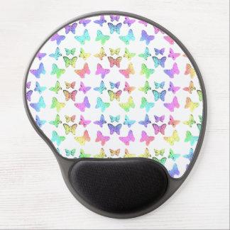Pastel Butterfly Pattern Gel Mouse Pad