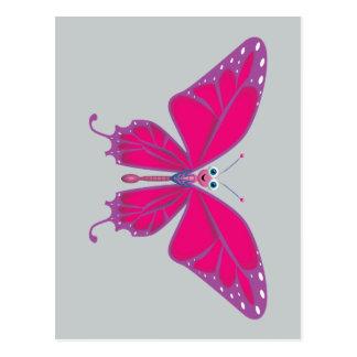Pastel Butterfly Postcard