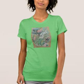 Pastel by NBR - Hummingbird and Moth T-Shirt