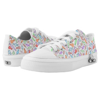 Pastel Candies low top shoes Printed Shoes