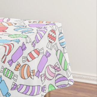 Pastel Candies tablecloth