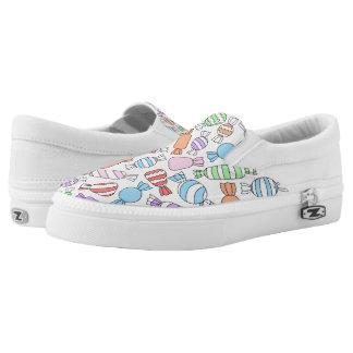 Pastel Candies Zipz Slip On Shoes
