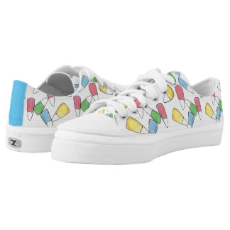 Pastel Candy Corn Pattern Easter Candycorn Sneaker
