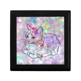 Pastel Cat Gift Box