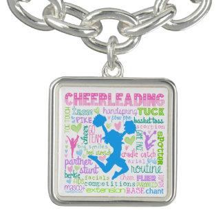 Pastel Cheerleading Words Typography