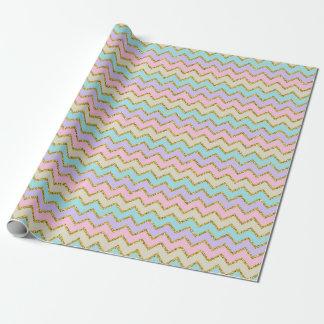 Pastel Chevron Wrapping Paper