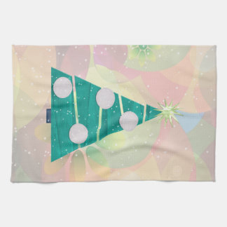 Pastel Christmas HOLIDAY GIFT DECOR Kitchen Towels