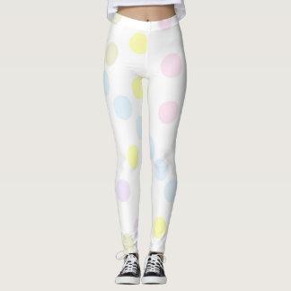 Pastel Circles Leggings